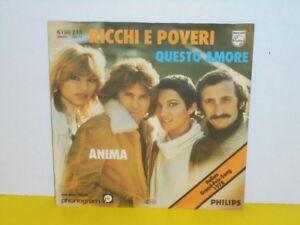 SINGLE-7-034-RICHI-E-POVERI-QUESTO-AMORE-EUROVISION-SONGCONTEST-1978