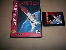 Sega Genesis Gleylancer Advanced Busterhawk NTSC English Gley Lancer Game