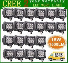 20X 4inch 18W CREE LED Work Light Bar 4WD Offroad Spot Fog ATV SUV Driving Lamp