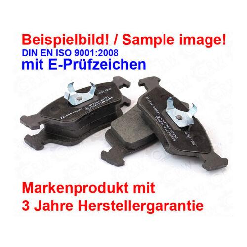 Bremsscheiben Bremsbeläge hinten für Audi A4 8EC B7 2.0 1.6 8E2 B6 8E5 1.9
