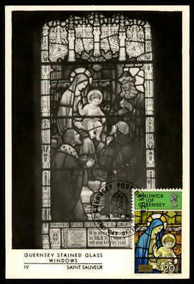 Guernsey Mk 1973 Kunst Kirchenfenster Maximumkarte Carte Maximum Card Mc Cm Ep09 Ein Unbestimmt Neues Erscheinungsbild GewäHrleisten