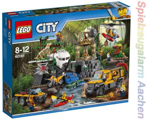 LEGO City Jungle Explorers Dschungel-Forschungsstation 60161 N7//17
