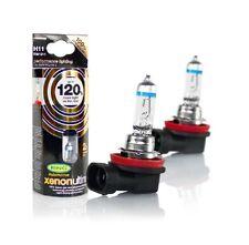 NUOVO H11 RING XENON ULTIMA AUTO LAMPADINE + 120% più luminoso H11 coppia