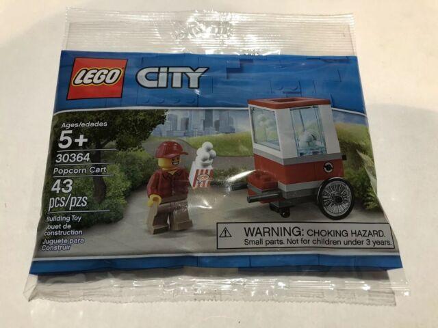 Lego 30364 Popcorn Cart City Polybag Set