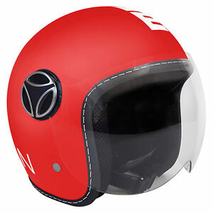 CASCO-MOMO-DESIGN-FIGHTER-RED-MATT-WHITE-BIMBO-BAMBINO-BABY-TG-JM-54CM