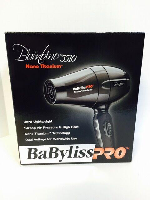 Buy Babyliss Pro Bambino Nano Titanium