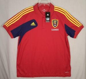New NWT Adidas REAL SALT LAKE MLS USA Football Soccer Jersey Shirt ... 5f66c1aca