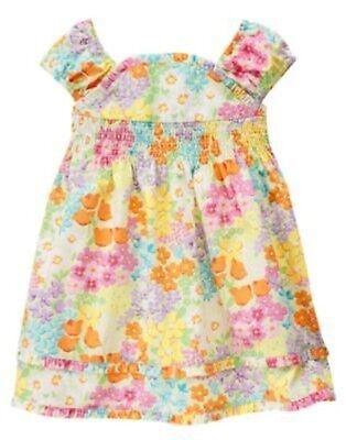 GYMBOREE FANCY DALMATIANS GREEN RIBBON N BOW DRESSY DRESS 3 6 12 18 24 2 3T 4 5T