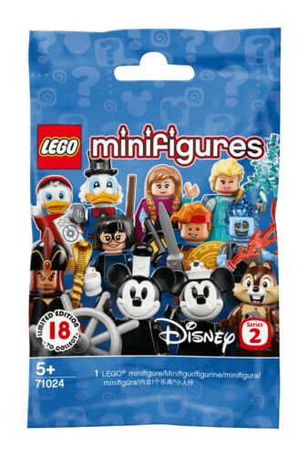 Hercules LEGO Disney Series 2 Collectible MiniFigure 71024 Sealed Pack