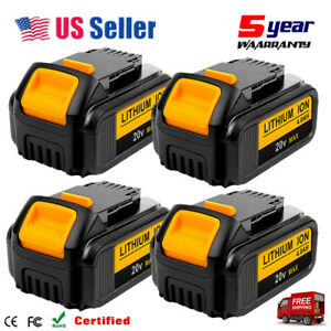 4xDCB205-2-For-DEWALT-20V-20-Volt-Lithium-Ion-DCB204-2-Battery-Packs-DCB205-4-0A