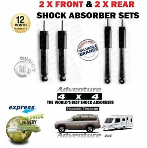 FOR-HYUNDAI-TERRACAN-2001-gt-2X-FRONT-amp-2X-REAR-FOR-TOWING-SHOCK-ABSORBER-SET