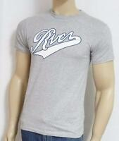Rvca The Pennant Tee Mens Gray 100% Cotton T-shirt