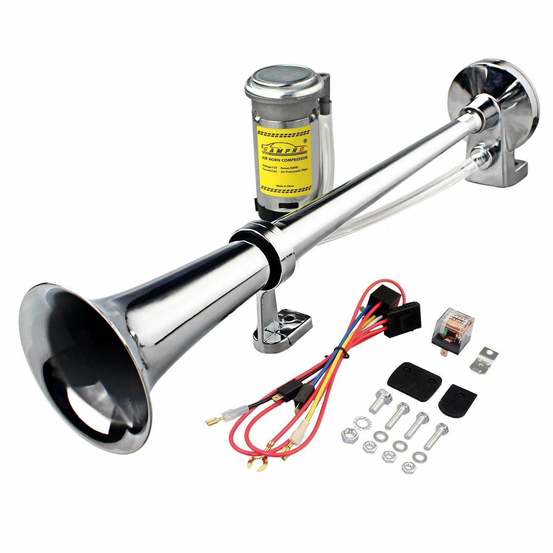 Conjunto De Compresor Para Bocina De Aire Trompeta Doble Súper fuerte De 12V