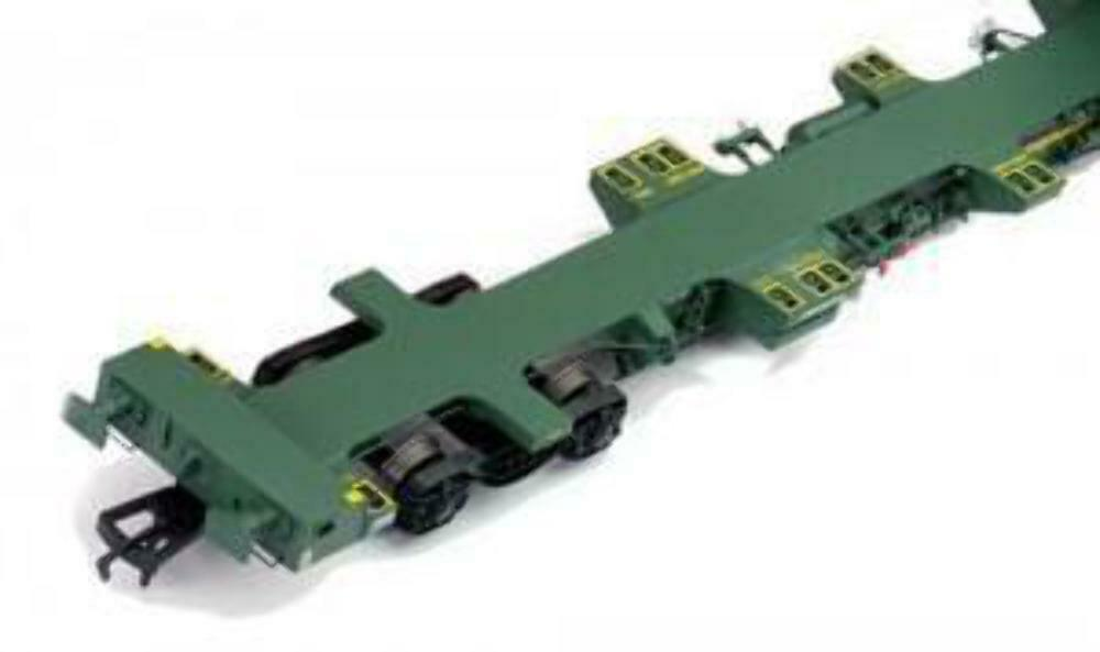 Dapol 4F-044-008 OO Gauge FEA-B Spine Wagon Set Freightliner 640177 8