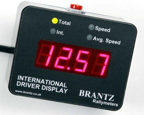 BR71 Trip Brantz International 2S Pro Affichage conducteur