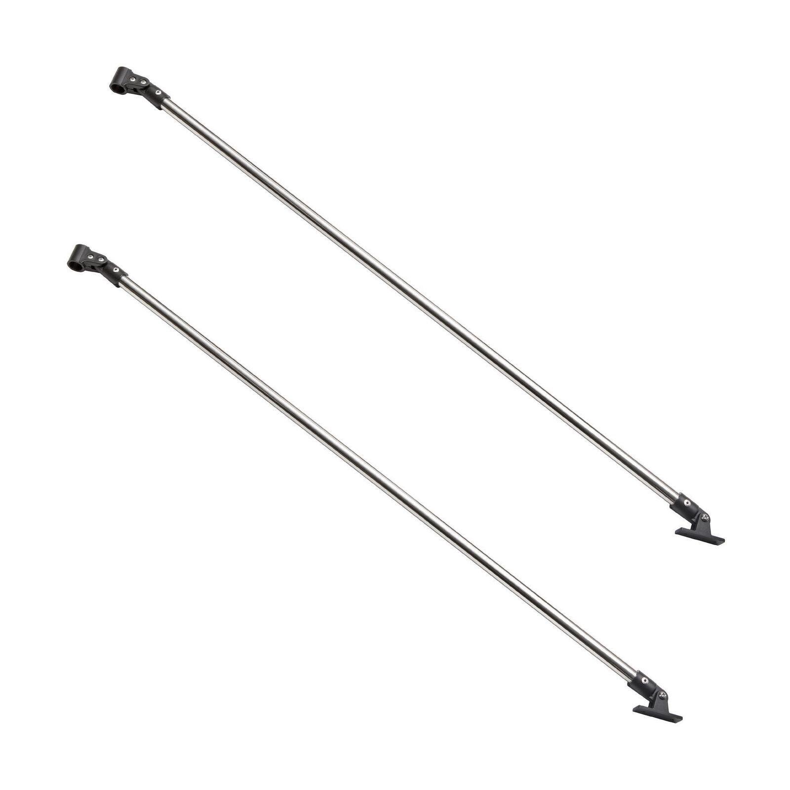 Paar Hinterarm-Set Edelstahl 316L Ø20mm, Länge 1mt, für Bimini Top, Stiefele