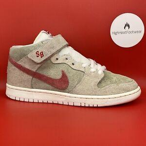 Nike SB Dunk Mid White Widow-UK 7.5/US 8.5/EU 42