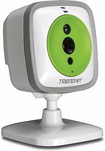 New Trendnet Wifi Baby Cam With Night Vision Tv Ip743sic