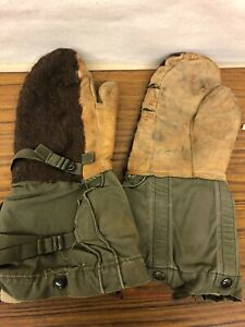 Vintage-Military-Winter-Mittens