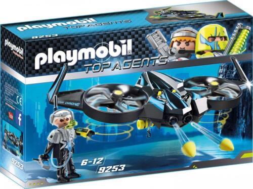 Playmobil 9253 Top Agents Kinder Spielzeug Mega Drone für Jungen ab 6 Jahren NEU