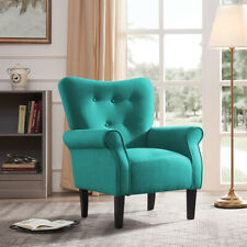 Outstanding Homelegance Charisma Accent Arm Chair Teal Fabric For Sale Creativecarmelina Interior Chair Design Creativecarmelinacom