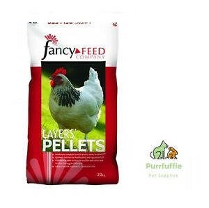 Details about 20KG FANCY FEED LAYERS PELLETS POULTRY CHICKEN TURKEY DUCK  GOOSE BANTAM FOOD