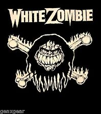 WHITE ZOMBIE cd lgo MONSTER BONES Official SHIRT XXL 2X New rob zombie