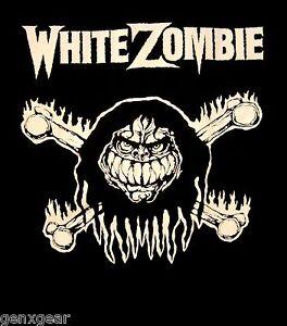 WHITE-ZOMBIE-cd-lgo-MONSTER-BONES-Official-SHIRT-MED-New-rob-zombie