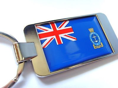 UK SEA CADETS CORPS ENSIGN FLAG KEYRING KEY FOB GIFT