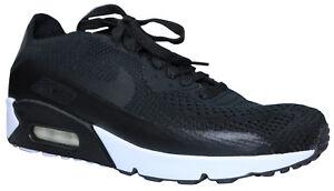 Details zu Nike Air Max 90 Ultra 2.0 Flyknit Herren Sneaker Schuhe schwarz Gr 44 & 45,5 NEU