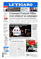 Le Figaro 1.2.2017 N°22568*Elon MUSK*FILLON-campagne*USA=TRUMP-NIXON*MACRON-HAMO