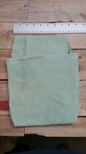Heavy Duty gray Suede Leather Nail /& Small Tools Pouch