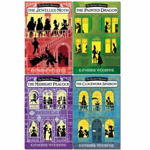 Katherine-Woodfine-The-Sinclairs-Mysteries-4-Books-Collection-Set-Pack