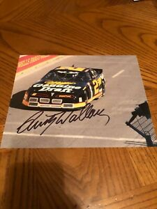 RUSTY WALLACE SIGNED AUTOGRAPHED 8X10 PHOTO NASCAR HALL OF FAME 2013 1