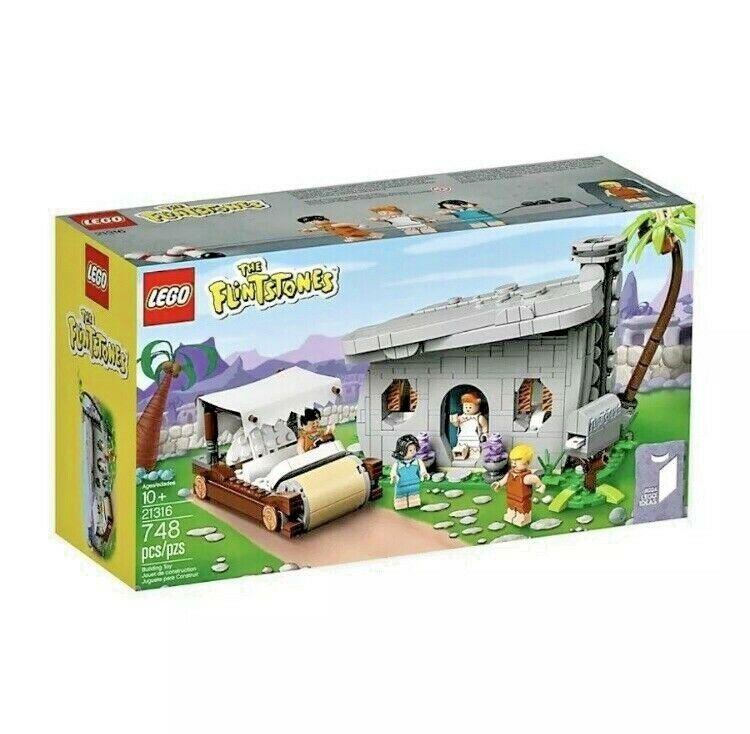 Lego Flintstones 21316 - Free P&P Lego Ideas Set - Brand New VIP Lego Set