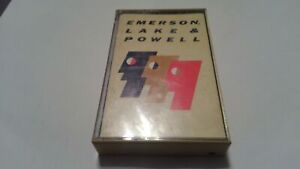 Emerson Lake and Powell Self Titled Cassette Tape