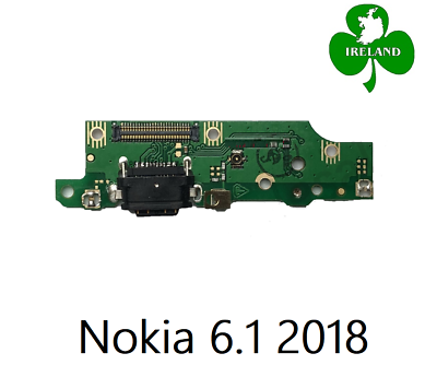 For Nokia 6.1 2018 TA 1089 Type C Charging Port Board PCB Flex with Mic Module   eBay