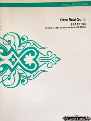 Skye Boat Song for SSAATTBB Rathbone