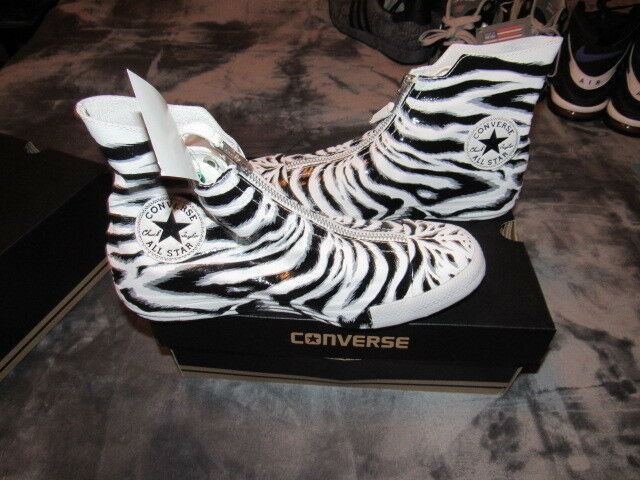 NIB CONVERSE CT CHUCK TAYLOR ALL STAR 550854C SHROUD Zebra Damenschuhe 550854C STAR 125 SIZE 8 28aeef