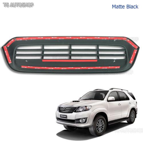 Fits Toyota Fortuner Suv 2Wd 4Wd 2012 13 2014 Matte Black Vent Hood Scoop Cover