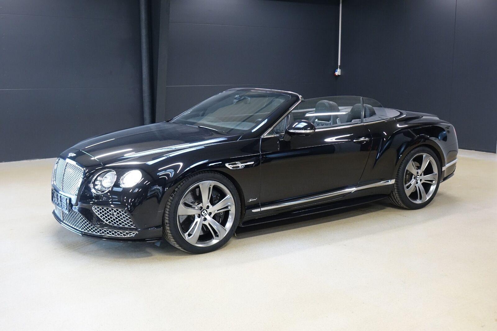 Bentley Continental GT 6,0 W12 Convertible Speed aut. 2d