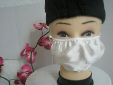 1 Anti Flu & Dust & Hay Fever & Pollen & Virus Pollution White 2 Layer Silk Mask