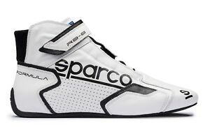 best website c5f55 4edd0 Dettagli su SCARPE SPARCO RACING NEW FORMULA RB-8.1 BIANCO-NERO OMOLOGATE  FIA 001251