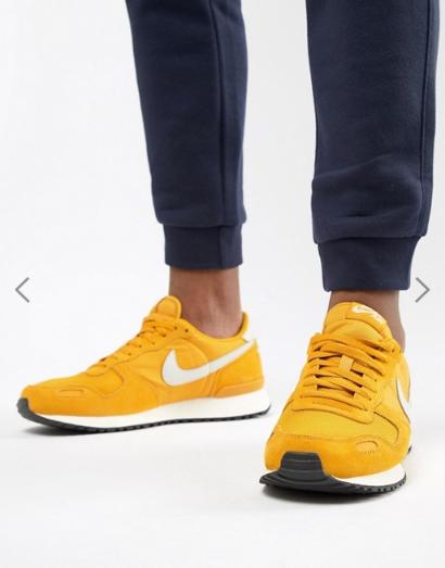 Nike Luft Vortex Herren Herren Herren Turnschuhe Retro Vintage Gelb Eu 48  0490e7