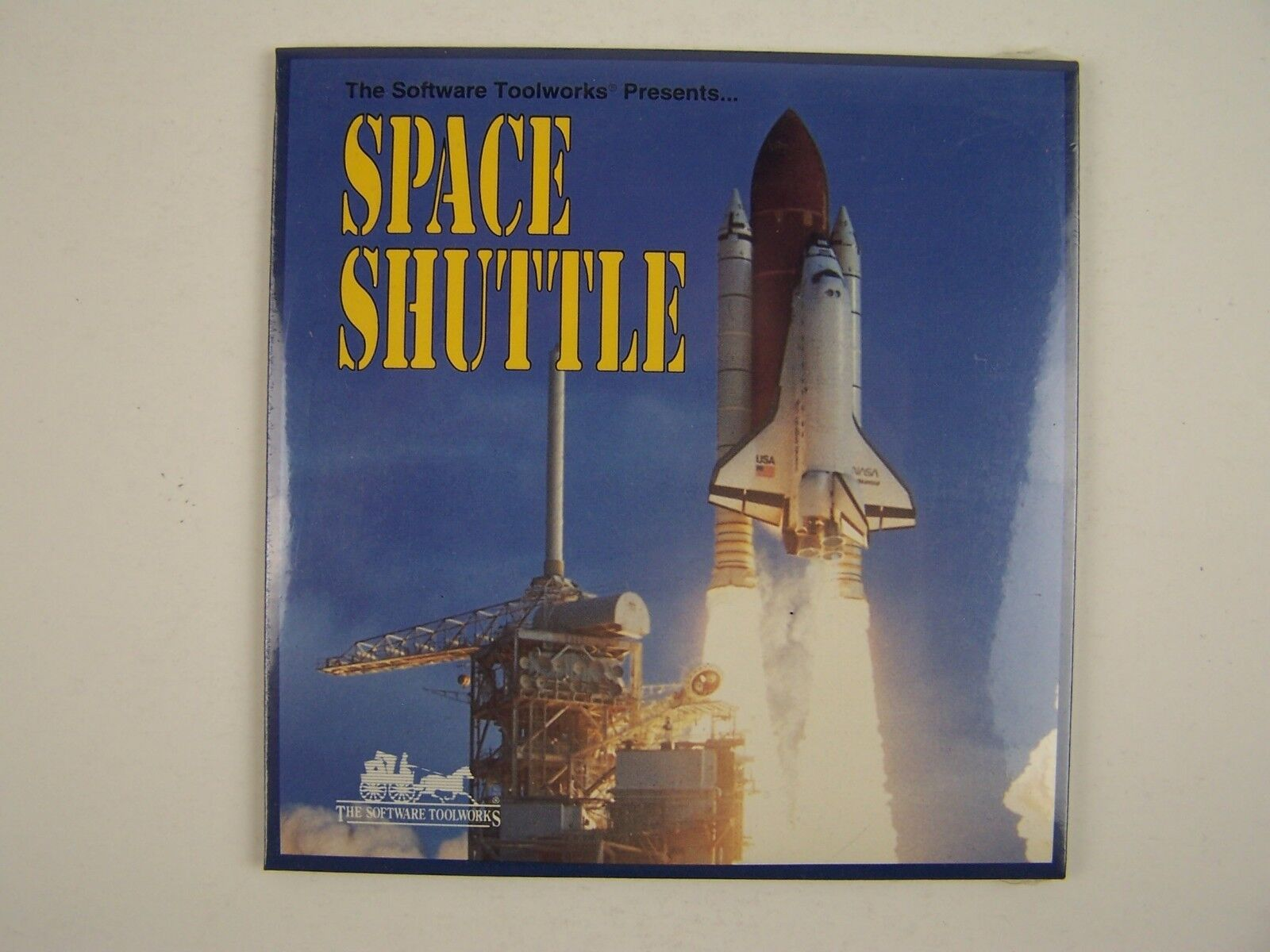 The Software Toolworks Presents Space Shuttle PC CD New