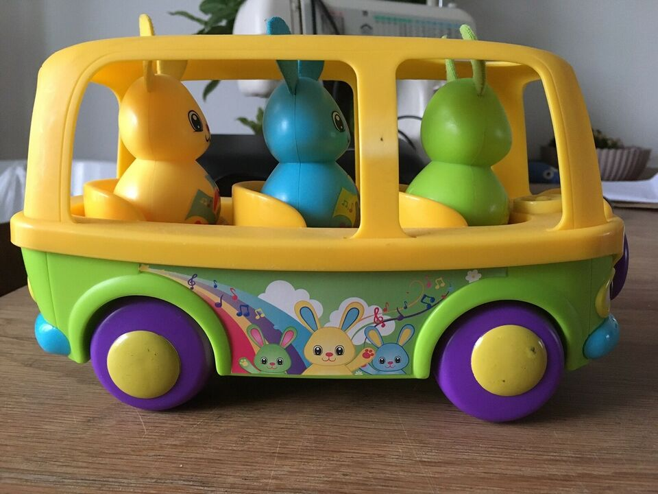 Andet legetøj, Sing to learn bunny bus, TOMY