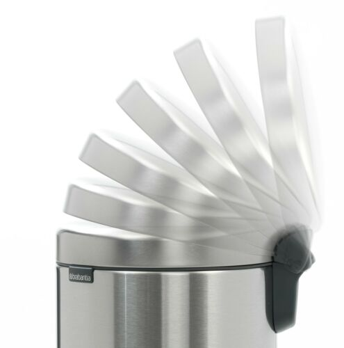 brabantia Treteimer NewIcon 12L Metallic Mint nachhaltiger Mülleimer Abfalleimer