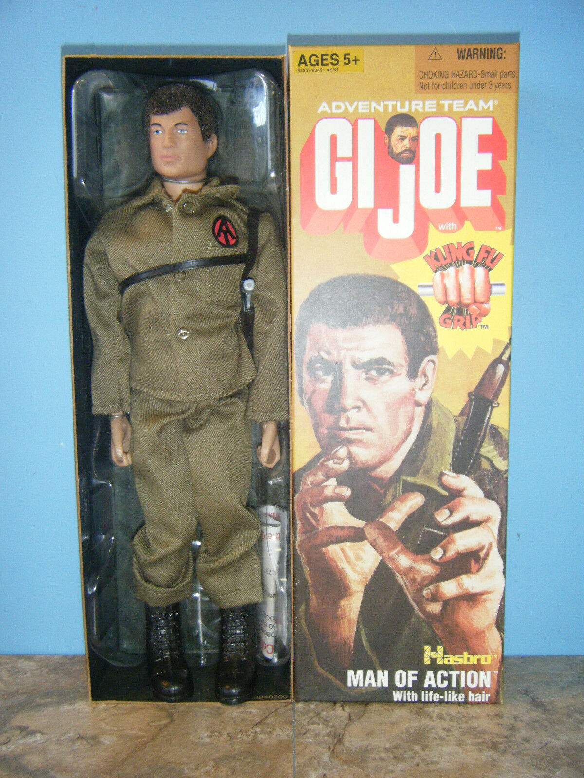 GI JOE MAN OF ACTION REPRODUCTION 12  FIGURE NEW