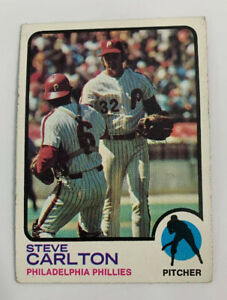 1973 Steve Carlton # 300 Philadelphia Phillies Topps Baseball Card HOF