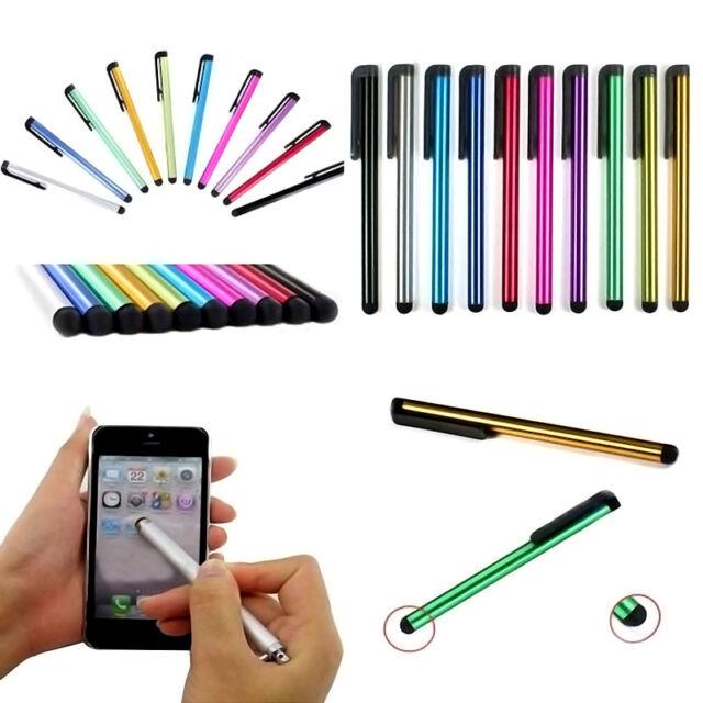 10x Stylus Metall Touchpen Eingabestift Pen Tablet iphone ipad Universal